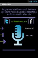 Screenshot of Tecno esfera Podcast