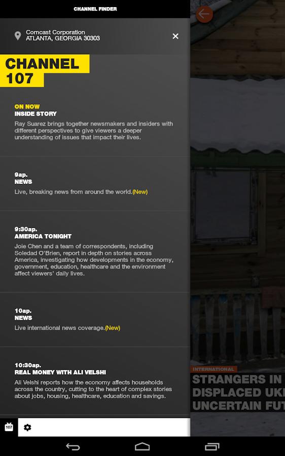 Al Jazeera America News - screenshot