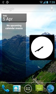 Your Picture Clock Widget- screenshot thumbnail