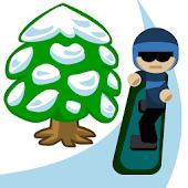Snowboard Speed Slalom! Free