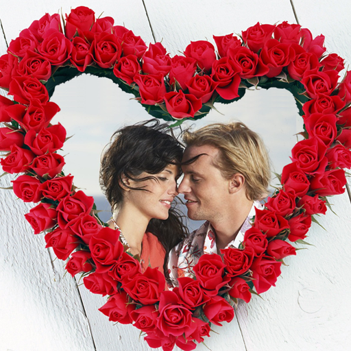 Lover\'s Heart Photo Frames - Google Playstore Revenue & Download ...