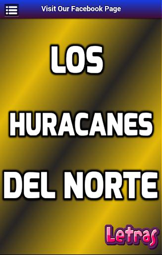 Letras Los Huracanes del Norte