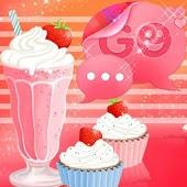 GO SMS Pro Theme Muffin Shake