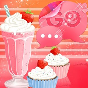 GO SMS Pro Theme Muffin Shake