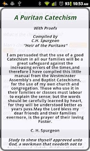 A Puritan Catechism- screenshot thumbnail