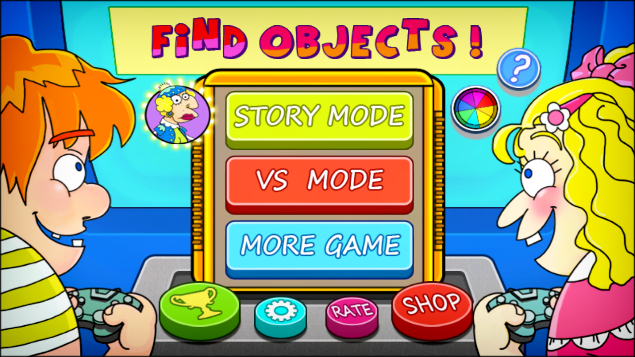 Find Objects - screenshot