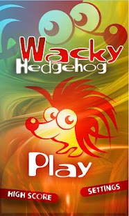 Wacky Hedgehog jump (ads) - screenshot thumbnail