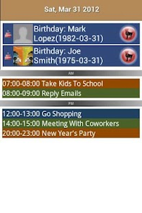 Checkmark All in One Calendar- screenshot thumbnail
