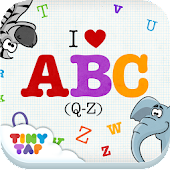 I ♥ ABC - Toddler Alphabet Q-Z