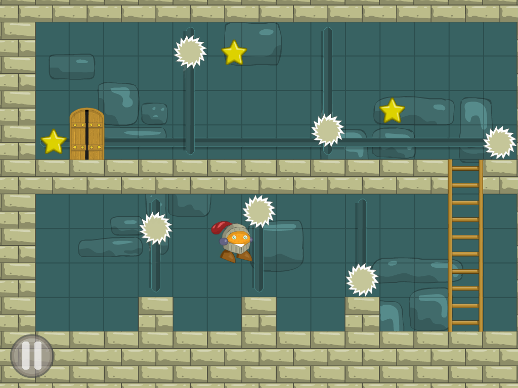 Orange knight Free- screenshot
