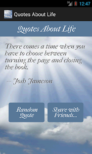 Quotes About Life- screenshot thumbnail
