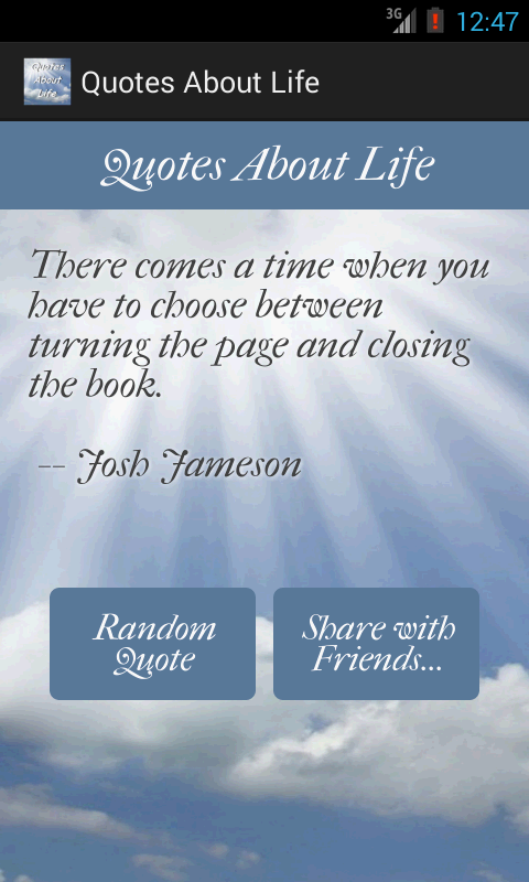 Quotes About Life - screenshot
