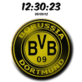 DigitalClock Borussia Dortmund