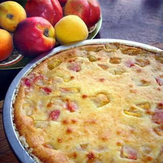 Nectarine Pie.