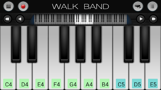 Walk Band: Piano,Guitar,Drum..- screenshot thumbnail