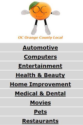 OC Orange County California
