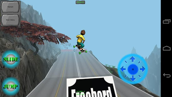 Freebord Snowboard The Streets- screenshot thumbnail