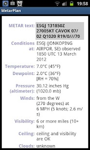 Metar Plan - screenshot thumbnail
