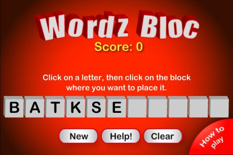 WordzBloc- screenshot