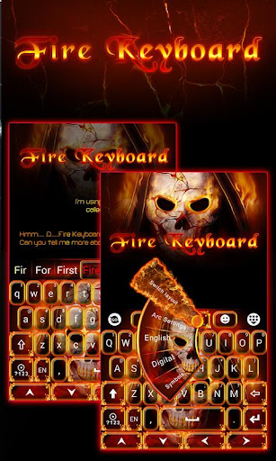 Fire Soul GO Keyboard Theme