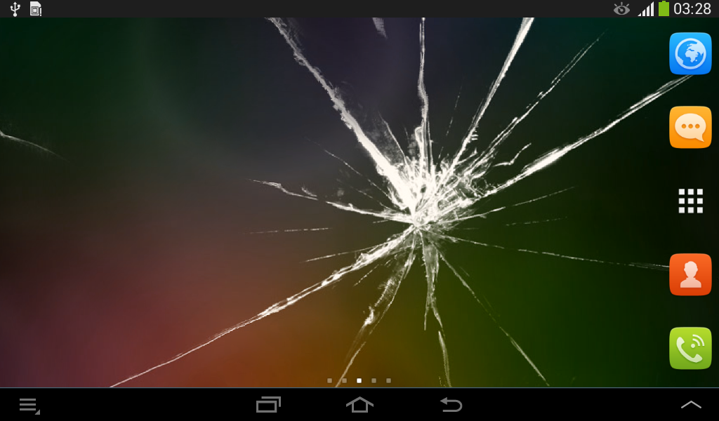 Cracked screen wallpaper android apps on google play - Cool screensavers for cracked screens ...