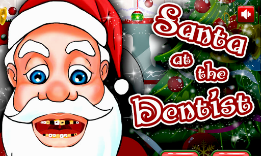 Christmas Santa Claus Dentist