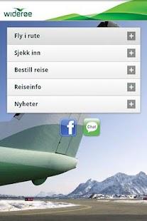 Widerøe- screenshot thumbnail