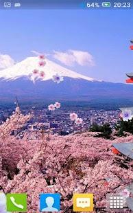 樱花的动态壁纸