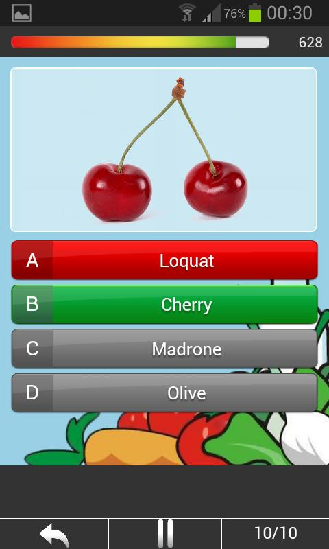 Food Trivia Quiz - Guess it! - screenshot