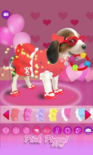 Dressup Pink Puppy - screenshot thumbnail