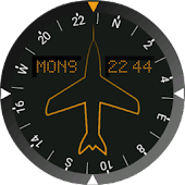 Heading Indicator Watch Face