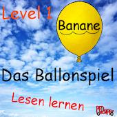 Das Ballonspiel  Lesen lernen