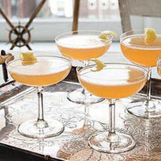 Sparkling Bourbon Cocktails.