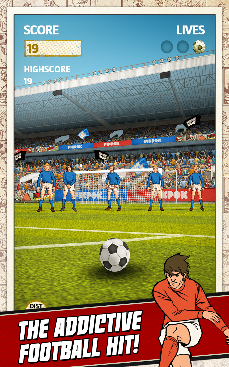 Flick Kick Football screenshot #9