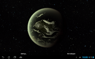 Screenshot of Earth HD Deluxe Edition