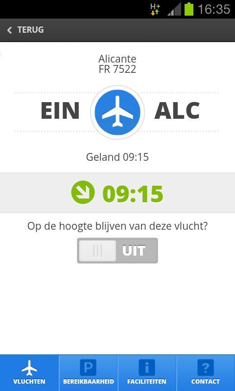 Eindhoven Airport - screenshot