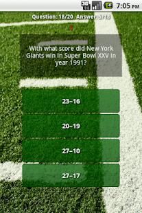 Super Bowl Quiz Challenge