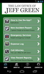 Accident App by Jeff Green Law- screenshot thumbnail