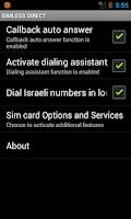 Screenshot of Simless Direct
