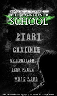 The abandoned school - screenshot thumbnail