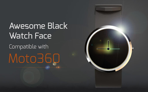 Awesome Black Watch Face