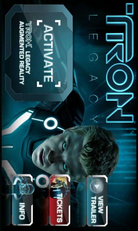 TRON: LEGACY AR CODE - screenshot