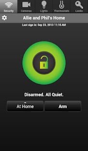 Telguard HomeControl- screenshot thumbnail