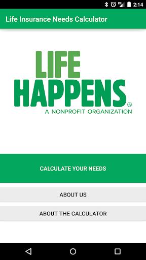 Life Happens Needs Calculator