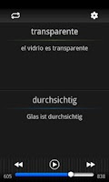 Screenshot of Speeq Spanish | German free
