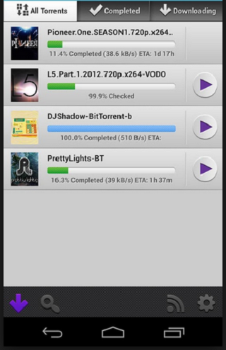Torrent download faster