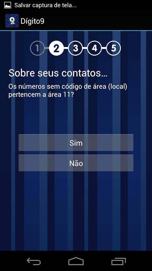 Tela App Dígito9 - Google Play