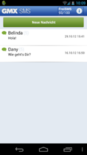 GMX SMS- screenshot thumbnail