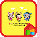 kong kong lee pooh dodol theme icon