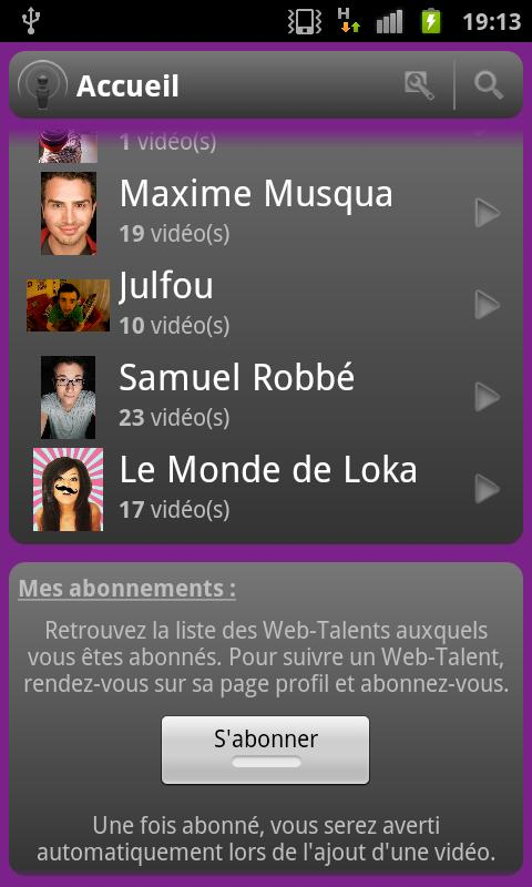 Web Talent - screenshot